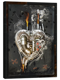 Canvas print  Lovesickness - diuno