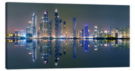 Canvas print  Dubai sky light panorama - Vincent Xeridat