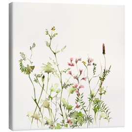 Canvas print  Wild flower meadow - Dearpumpernickel