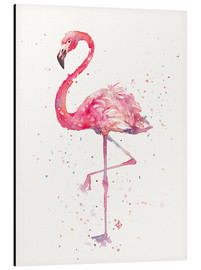 Aluminium print  A Flamingos Fancy - Sillier Than Sally