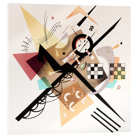 Acrylic print  Draft 'On White II' - Wassily Kandinsky