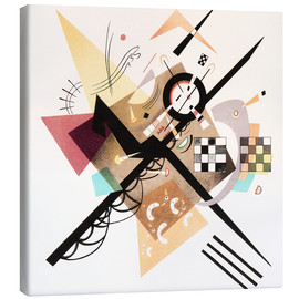 Canvas print  Draft 'On White II' - Wassily Kandinsky