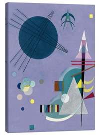 Canvas print  Violet Green - Wassily Kandinsky