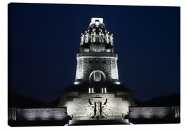 Canvas print  Battle of the Nations monument, Leipzig