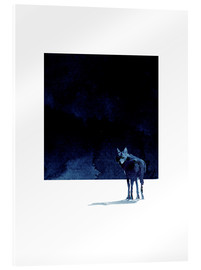 Acrylic print  I'm going back - Robert Farkas