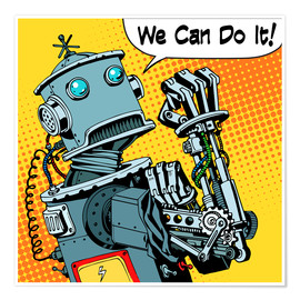Premium poster  We can do it - Kidz Collection