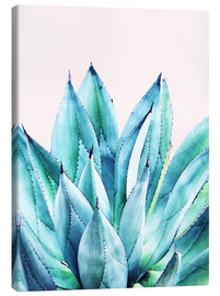 Canvas print  Agave watercolor - Uma 83 Oranges
