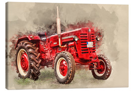 Canvas print  McCormick tractor Oldtimer - Peter Roder