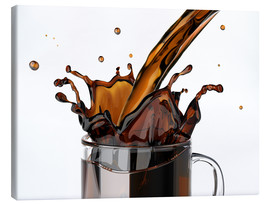 Canvas print  Coffee in the glass