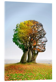 Acrylic print  The tree of life - Smetek