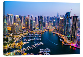 Canvas print  Dubai Marina, Dubai, United Arab Emirates - Fraser Hall