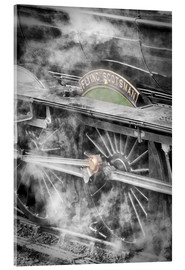 Acrylic print  The Flying Scotsman steam-train - John Potter