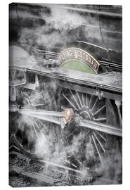 Canvas print  The Flying Scotsman steam-train - John Potter