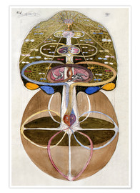 Premium poster  Tree of Knowledge, No. 1 - Hilma af Klint