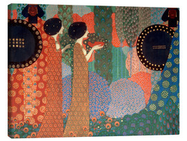 Canvas print  The princesses and warriors - Vittorio Zecchin