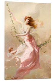Acrylic print  The swing - Edouard Bisson