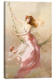 Canvas print  The swing - Edouard Bisson
