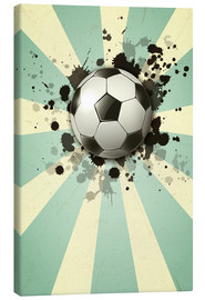 Canvas print  Football forever - Kidz Collection