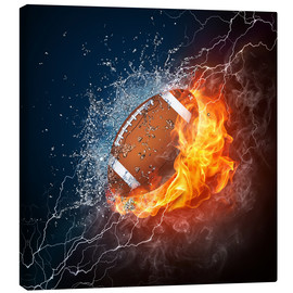 Canvas print  The Power of Football