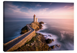 Canvas print  Phare du Petit Minou in sunlight (France / Brittany) - Kristian Goretzki