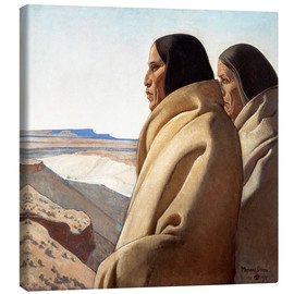Canvas print  Men of the Red Earth - Maynard Dixon