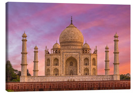 Canvas print  Taj Mahal, India - Mike Clegg Photography