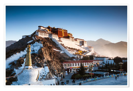Premium poster  Famous Potala palace in Lhasa, Tibet - Matteo Colombo