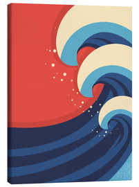 Canvas print  The Great Wave