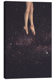 Canvas print  Hung in Space - lacabezaenlasnubes