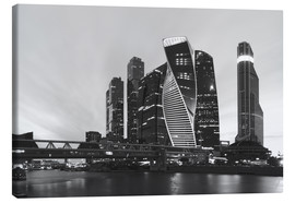 Canvas print  Business center Moscow
