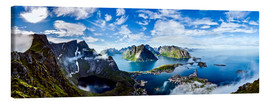 Canvas print  The Lofoten