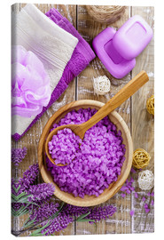 Canvas print  Purple relaxation