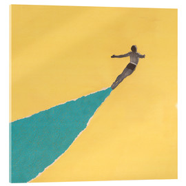 Acrylic print  Dive in August - Carlos Quitério