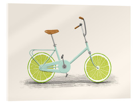 Acrylic print  Lime Bike - Florent Bodart