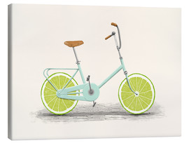 Canvas print  Lime Bike - Florent Bodart