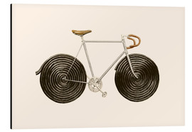 Aluminium print  Licorice Bike - Florent Bodart