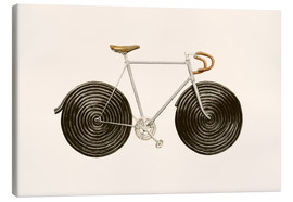 Canvas print  Licorice Bike - Florent Bodart