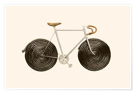 Premium poster  Licorice Bike - Florent Bodart