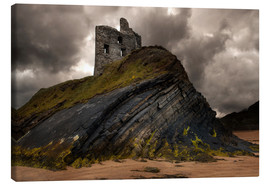 Canvas print  Ruined castle in Ballybunion, Ireland - Jaroslaw Blaminsky