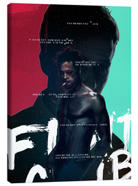 Canvas print  Fight Club - Fourteenlab