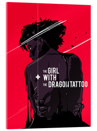 Acrylic print  The Girl with The Dragon Tattoo - Fourteenlab
