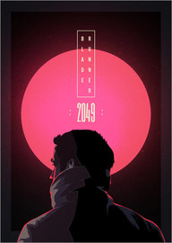 Canvas print  Blade Runner - 2049 - Fourteenlab