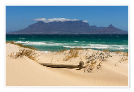 Premium poster  Cape Town, Bloubergstrand - Catharina Lux