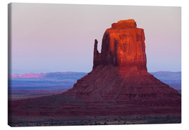 Canvas print  Monument Valley at sunset - Rainer Mirau