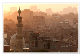 Premium poster  Old city of Cairo - Catharina Lux