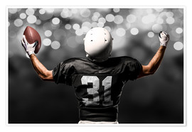 Premium poster  Finally a Victory! (American Football)
