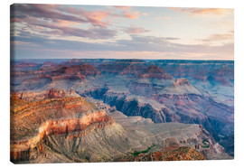 Canvas print  Sunset over the Grand Canyon south rim, USA - Matteo Colombo