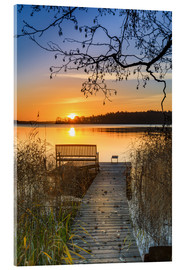 Acrylic print  Morning rest - Dennis Siebert