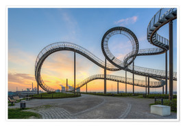 Premium poster  Tiger and Turtle Duisburg - Michael Valjak
