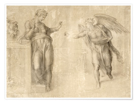 Premium poster The Annunciation to Mary